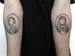 matching sister tattoo
