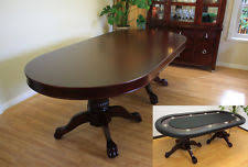 10 player round poker table wood poker table ebay