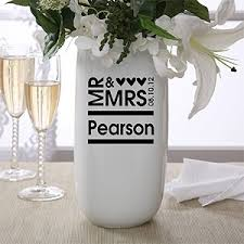 Personalized Flower Vases 36 Best Wedding Gift Ideas Images On Pinterest Wedding Gifts