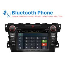 touch screen android 6 0 radio dvd player for 2007 2014 mazda cx 7