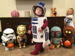Jaws Halloween Costume Bb 8 R2 D2 Star Wars Toddler Halloween Costumes 11 Steps