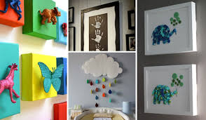 Easy Diy Room Decor Top 28 Most Adorable Diy Wall Art Projects For Kids Room Amazing
