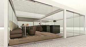 Louvered Roof Pergola by Roof Cover Systems Slide Clear