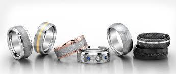 titanium colored rings images Men 39 s titanium wedding bands fashion jpg
