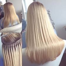 micro weft extensions micro ring copper hair extensions weft individuals in