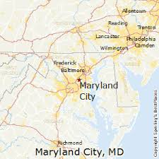 map of maryland with cities best places to live in maryland city maryland