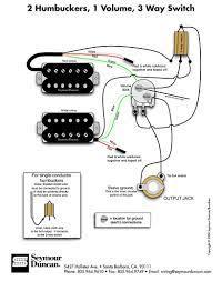 wiring diagram 2 humbuckers 3 way switch circuit and schematics