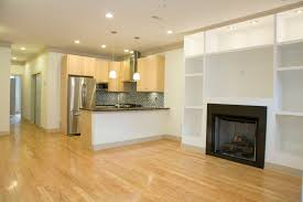 interesting kitchen basement design with wooden oak laminated