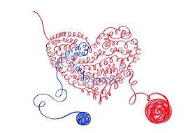 pencil sketch heart related thread stock vector art 836465788 istock