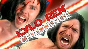 Challenge Goes Wrong When The Kylo Ren Challenge Goes Wrong Nerdist Presents