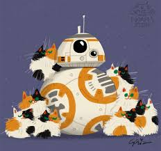 disney employee draws star wars characters cats