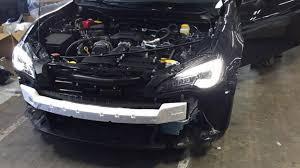 subaru brz all black 2017 subaru brz facelift leaked has sti concept bumper