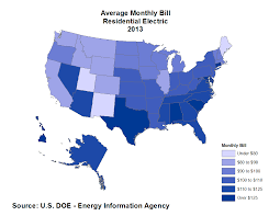 average monthly electrical bill by state u2013 updated data eye on