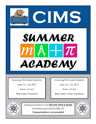 cims newsflash cobalt institute of math and science