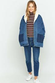 urban outfitters thanksgiving hours bdg borg collar oversized denim jacket urban outfitters giyim
