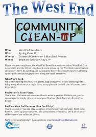 Volunteer Brochure Template by 10 Best Neighborhood Clean Up Images On Cleanses