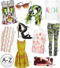 shopping guide a z trend guide island chic sydne style