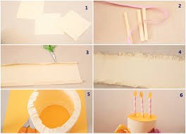 christmas border writing paper a paper crafted cake in 3d surely simple paper cake layer tutorial1