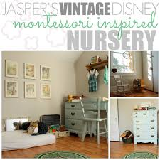 jasper u0027s montessori vintage disney inspired nursery disney baby