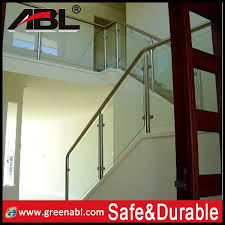 Glass Stair Handrail Flexible Glass Stair Handrail In The Stair Buy Glass Stair