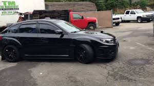 subaru xxr 2011 sti murdered out new wheels youtube