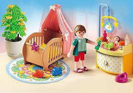chambre enfant playmobil playmobil 5334 chambre de bébé avec berceau achat vente univers