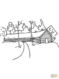 dala horse coloring page free download