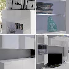 Wohnzimmerschrank Ohne Fernseher Moderne Wohnwand Calabrini I Anbauwand Mediawand Hängevitrine