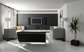download 1920x1200 white and gray theme home interior wallpaper