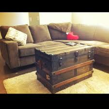 Decorative Trunks For Coffee Tables Incredible Antique Trunk Coffee Table With Best 25 Old Trunks