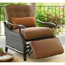 reclining patio chair with ottoman wicker reclining patio chair patio ideas
