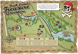 Treasure Island Map Park Lands Treasure Adventure Adelaide Park Lands