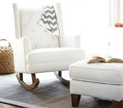 chairs modern nursery glider chairs tufted rocker stylish