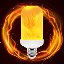 why led light bulbs flicker amazon com led flame bulb led flickering flame bulb e26 flicker