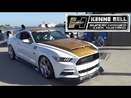 hurst mustang hurst kenne bell supercharged r code mustang at ponies at the pike