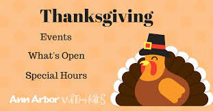 thanksgiving day what s open closed arbor with