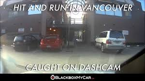 lexus dealership vancouver canada hit and run in vancouver bc caught on dash cam blackboxmycar