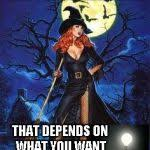 Witch Meme - red head witch meme generator imgflip
