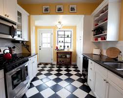 Kitchen Floor Tile Ideas by Black White Floor Tile Zamp Co