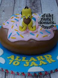 homer simpson birthday cake cakecentral