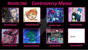 Monster High Memes - mh meme by icont mack56 filled out by me by min c art on deviantart