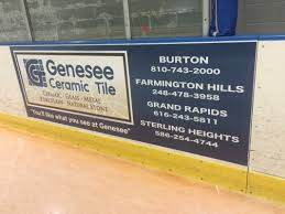 Genesee Ceramic Tile Burton Michigan by Advertise Your Business Crystal Fieldhouse Ice Arena