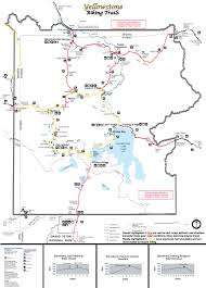 National Parks In Colorado Map by Yellowstone National Park Biking Yellowstone Up Close And Personal