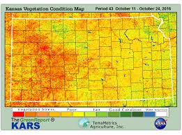 Kansas vegetaion images Kansas drought information GIF