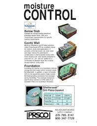 Basement Moisture Control Prsco Catalog Simplebooklet Com