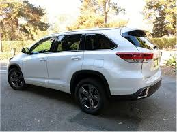mileage toyota highlander toyota highlander hybrid prices reviews and pictures u s