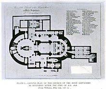 Anglican Church Floor Plan by Church Of The Holy Sepulchre Wikipedia