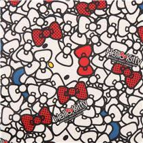 hello ribbon white hello packed ribbon bow sanrio laminate fabric from