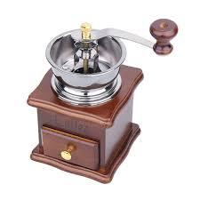 Manual Coffee Grinders Baldor Grinder Buffer Stainless Steel Manual Coffee Grinder With