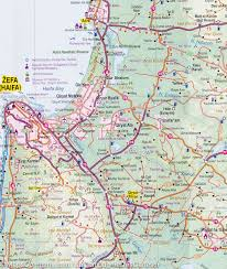 Map Israel Map Of Israel U0026 Palestine 1 225 000 U2013 Mapscompany